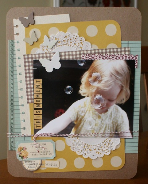 Layers are fun: 1 photo + layers + butterflies + ledger paper: Scrapbook Layouts, Paper Craft, Scrapbook Inspiration, Photo Layout, Scrapbooking Ideas, Scrappin, Scrapbooking Layouts Etc, Scrapbooking 1Photo