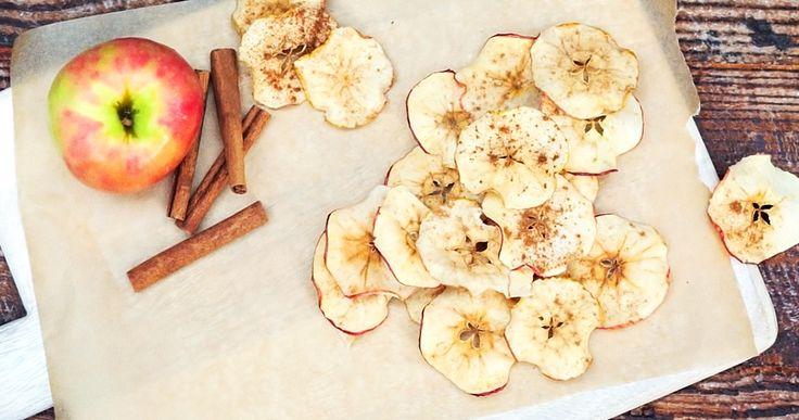 Ароматные яблочные чипсы, откоторых невозможно оторваться