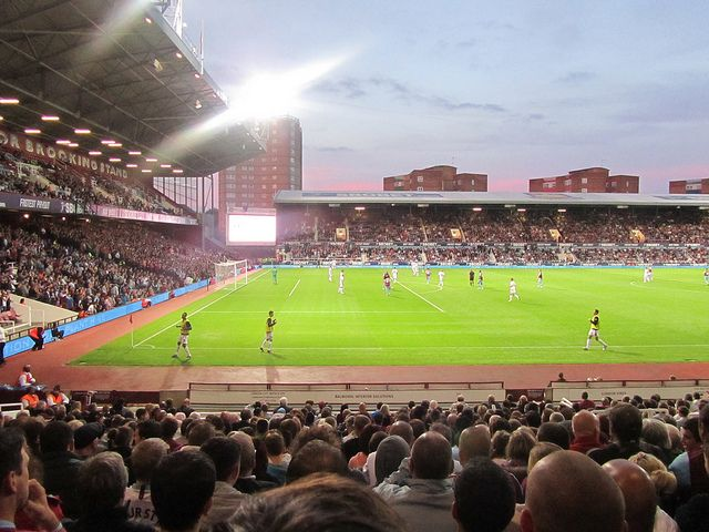 Boleyn Ground, or Upton Park, in London is the home of West Ham United Premier League team.