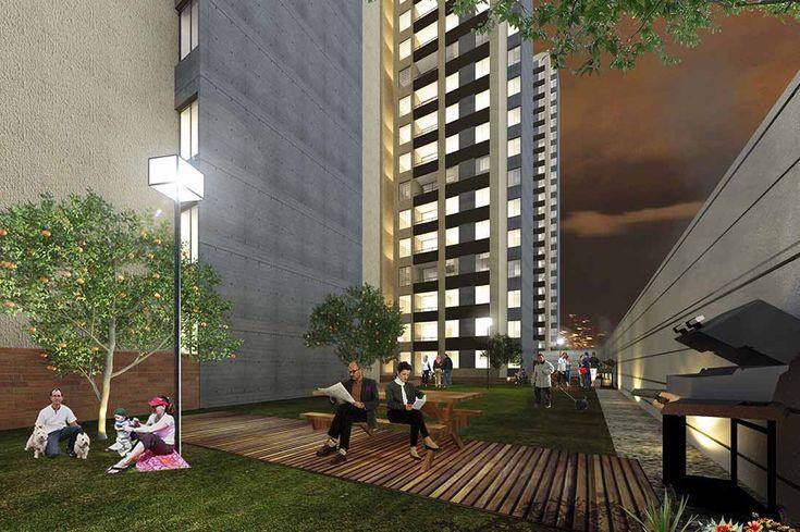 ¡Largo Plazo para pagar tu cuota inicial! ¡Se entrega con acabados!Altobelo es una   unidad cerrada, de 5 torres de apartamentos, cada torre tien...