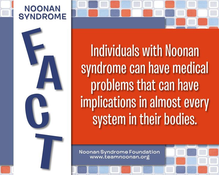 Noonan Syndrome Awareness Month Fact Day 12
