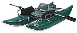 OUTCAST PAC 800 inflatable fishing boat is a very fine 8 ft pontoon: NO SALES TAX, and FREE domestic SHIPPING on Outcast rafts from the Caddis Fly Shop Our Caddis Fly Shop staff have personal experience with anglers and guides who fish the PAC series of inflatable fishing boats.  We can help you choose the best boat and appropriate accessories, plus delivery in prompt fashion.    These OUTCAST PAC 800 fishing boat features the highest standards in the industry, with a 10 year warranty.  Easy…