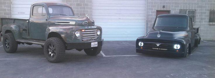 1948 Ford 6 Cylinder Cummins and 1953 Ford 4bt Cummins