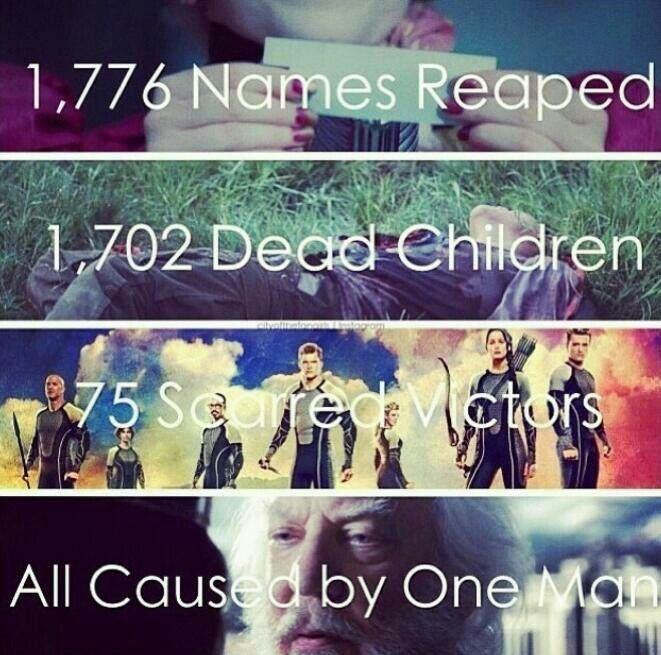 Really like this edit but I don't think Snow was the ONLY president for 75 years. He is just the only one that we see in the books/movies.