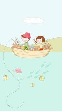 Rodzinne łowienie ryb