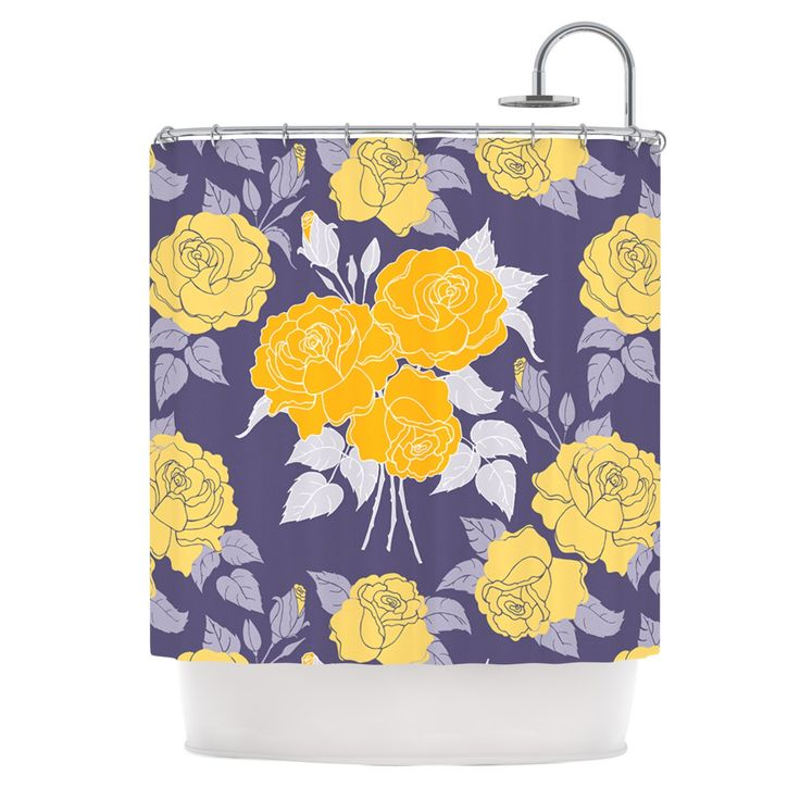1000 ideas about lavender shower curtain on pinterest for Purple and yellow bathroom ideas