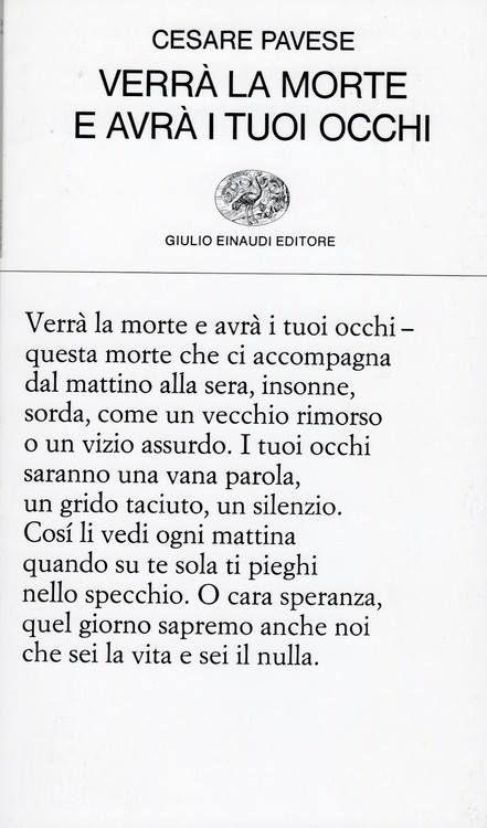 Cesare Pavese: la mia tesina alla maturità, una vita fa