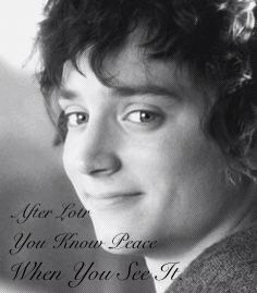 I do now . We miss you Frodo....