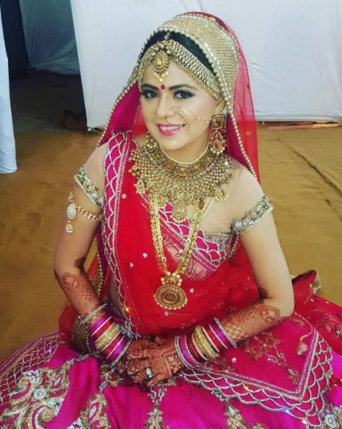 Indian weddings are the most colourful and royal. Many celebrities are getting hitched this season and the latest to join the bandwagon is TV actress, Rucha Gujarathi. Here are all the details from her pre-wedding celebrations!