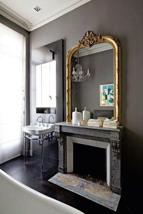Современные французские интерьеры в стиле неоклассика. - Дизайн интерьеров   Идеи вашего дома   Lodgers
