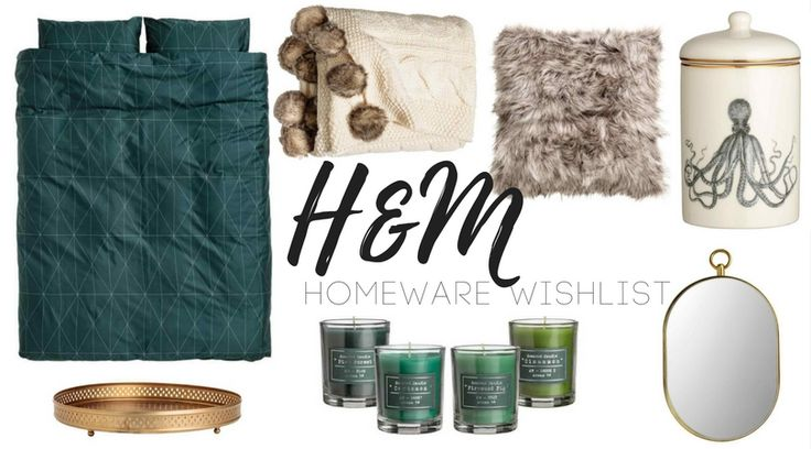 "H&M Homeware Wishlist -  I'm a really bad ""window"" shopper. I taunt myself by trolling through websites looking for pretty things I'd like for my home, add them all to my basket and then when I get to the checkout and see the total I'm like.. uhhh, maybe not. Is it just me?   I've put together a little list of things I've been spying to achieve this and maybe it can inspire you too!"