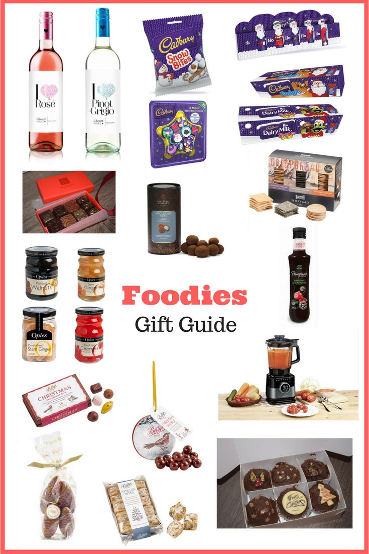 Foodies Gift Guide #Christmas #food