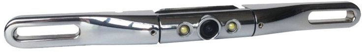 Lite-Bar Type License-Plate Camera with LED Light Chrome