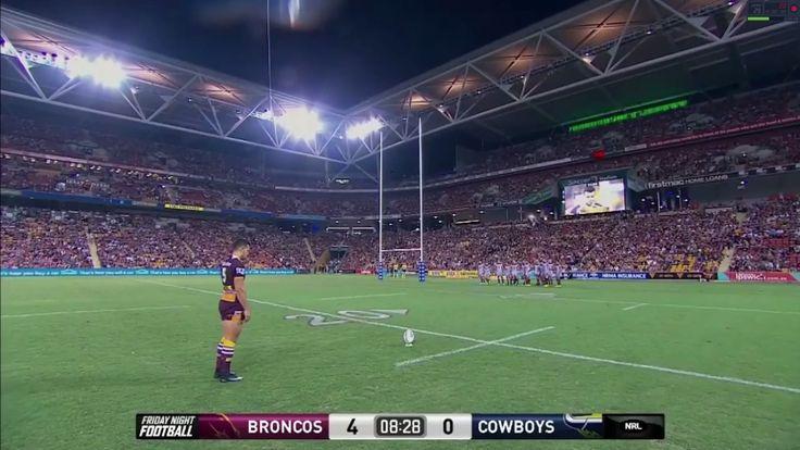 Broncos vs Cowboys, Highlights - 2017 NRL Round 2