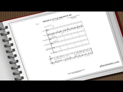 Dream a Little Dream of Me - Laura Fygi - Sheet Music