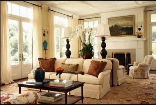 back to back couches!  Fireplace: Modern House Design, Modern Interiors Design, Modern Home Design, Luxury House, Living Rooms Design, Design Interiors, British Colonial Style, Home Interiors Design, Design Home