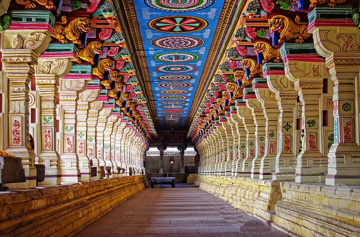 The Ramanathaswamy temple is a Hindu temple dedicated to Lord Shiva. It is one of the most important pilgrimage sites for the followers of Hinduism. Thousands of devotees throng to this historical temple throughout the year. It is located on the Island town in Rameshwaram of Ramanathapuram district.