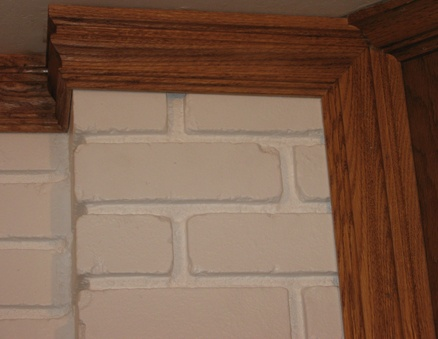 3 way corner fireplace molding renovation ideas brick for Three way fireplace