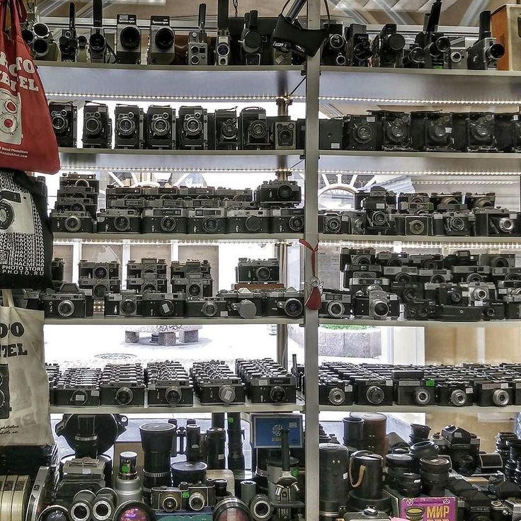 Not all camera stores have moved away from film cameras some still fully embrace the medium. Just like this store in St Petersburg documented by @r0man0ff; Soviet era camera heaven. Feel free to give a shout out to your local film camera store. I know there are some terrific ones on IG.  #cameracult #camera #filmcamera #35mmfilm #filmphotography #film #cameraporn #oldrussians #stpetersburg #soviet #ussr #russian #zorky #zenit #analog #shootfilm #filmisnotdead