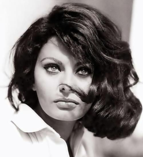 Sophia Loren,  Inspiration board by Gwendolyn-Mary.com, bringing scent and music together to create exquisite fragrance.                                                                                                                                                      More