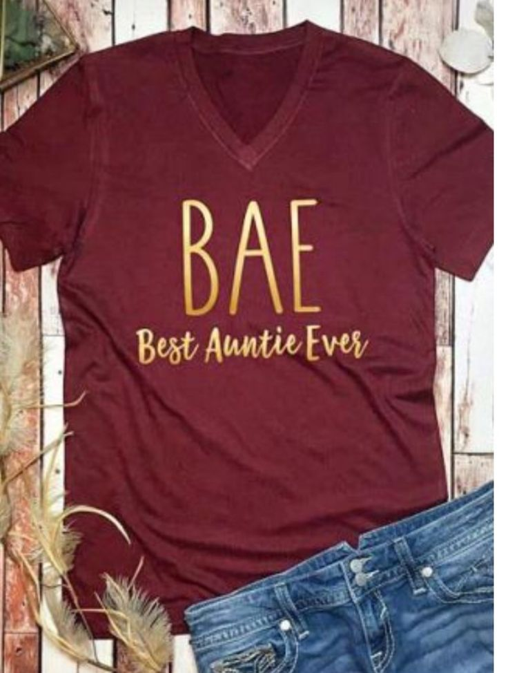 Best Aunt Ever Cricut Idea Best Auntie Ever T Shirts For Women Online Clothing Boutiques