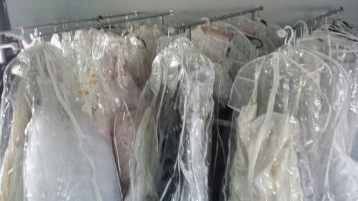SOME of the bridal samples