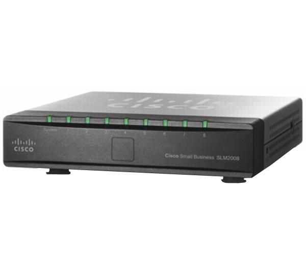 CISCO SG 200-08 8-port 10/100/1000 Mbps Smart Switch (SLM2008T-EU) | €85.58
