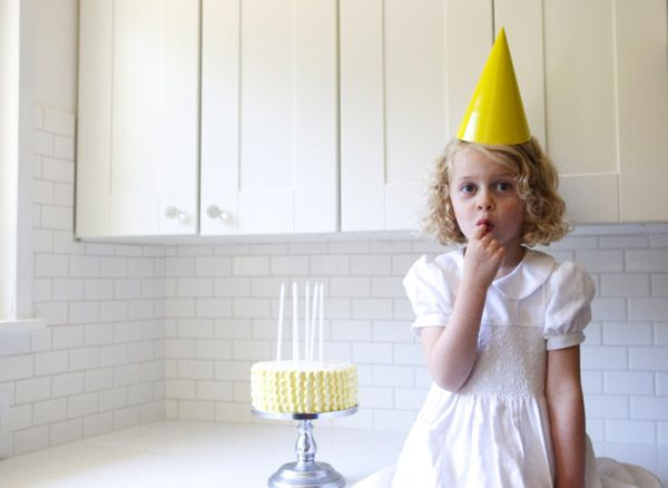 Scalloped Cake via Oh Happy Day