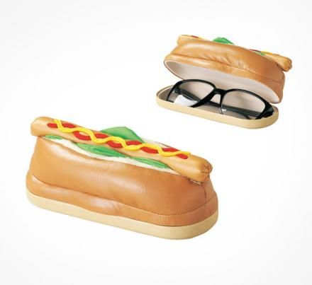 A Hot Dog Shaped Glasses Case. Because Why Not?