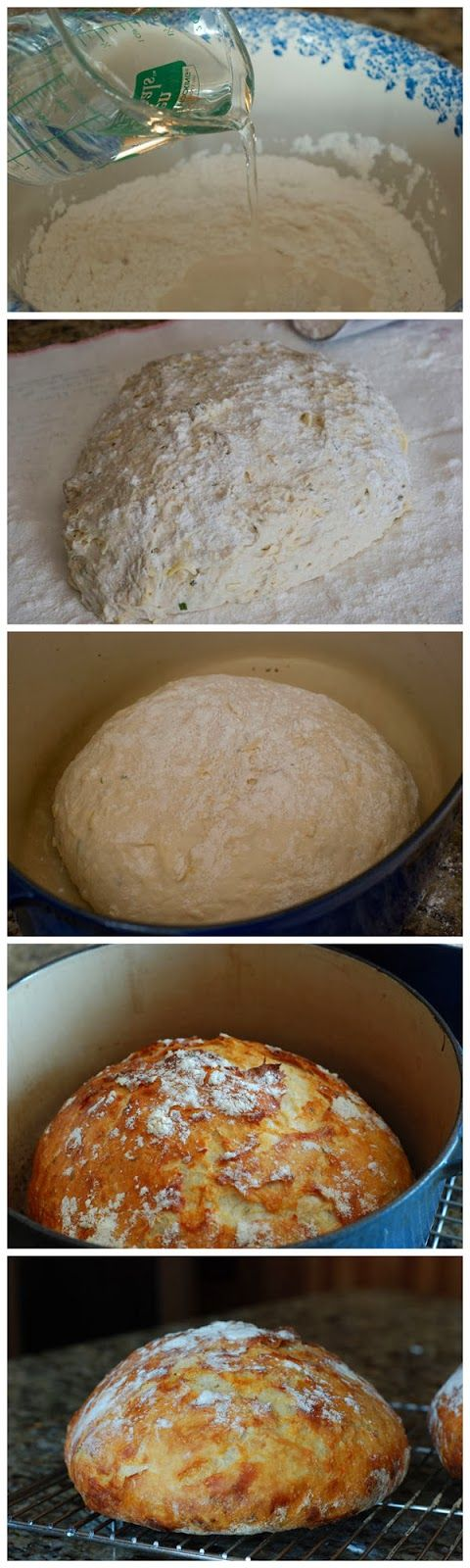 Crusty Bread - i hear this is insanely easy, took 2 minutes to stir together the dough - let it sit overnight and then bake.