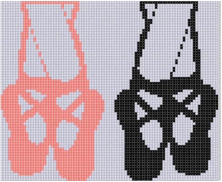 Ballet Cross Stitch Pattern