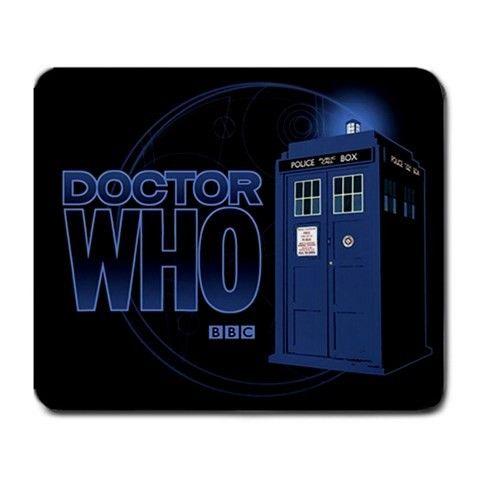 Doctor Who TARDIS Large Rectangular Mousepad Mat via Greatest Gift