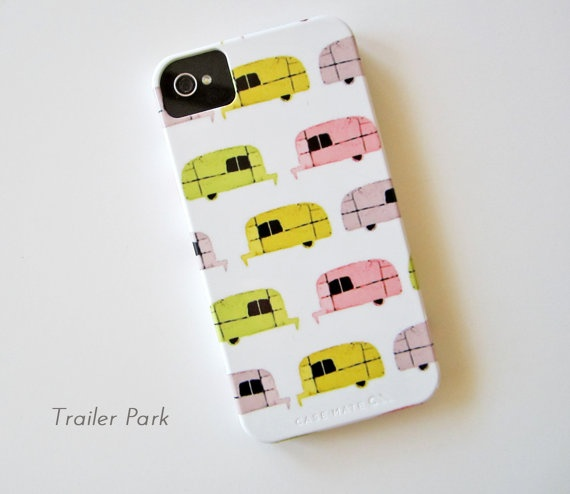 I just bought this. SO CUTE!Iphone Cases, Vintage Trailers, Cases Multi, Iphone 4 4S, Trailers Iphone, Phones Cases, Multi Pattern, 4 4S Cases, Airstream Trailers