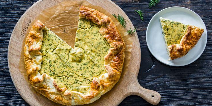Пирог с творогом и укропом : Выпечка : Кулинария : Subscribe.Ru