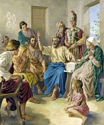 Acts 28: Paul in Rome
