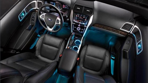 2012 Ford Explorer Limited Edition Interior