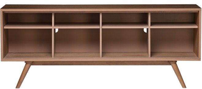 Moody Scandinavian Sideboard Credenza Buffet - Customizable - Large