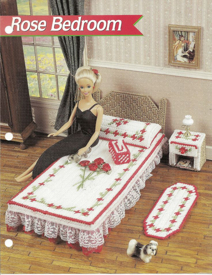 59 Best Plastic Canvas Dollhouse And Barbie Images On