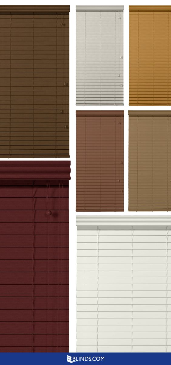 17 Best Images About Faux Wood Blinds On Pinterest