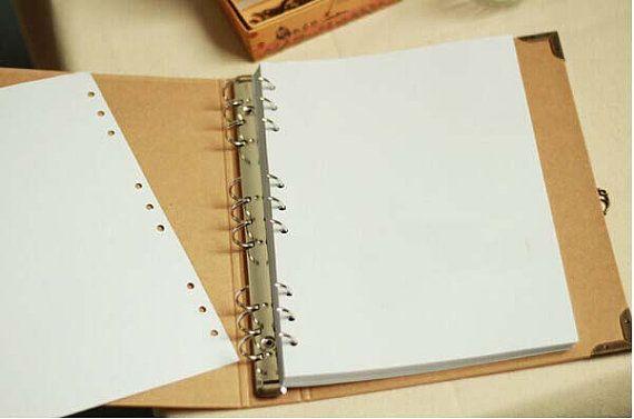10% korting op Kraft papier Notebook / fotoalbum / door alicemolds