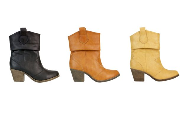 What's your flavour? The perfect heeled booties for this #fall2013. Coming soon!