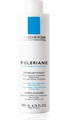 I just started using this on the advice of several beaty review websites and a Beauty Boutique salesperson.  My skin has changed SO MUCH since I started using Retin-A Micro, it has been a challenge to find the right cleansers and moisturizers.  Hoping this works! Toleriane Dermo-Cleanser,