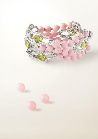 Van Cleef & Arpels Ethiopian opal bracelet from the 2008 Les Audacieuses collection