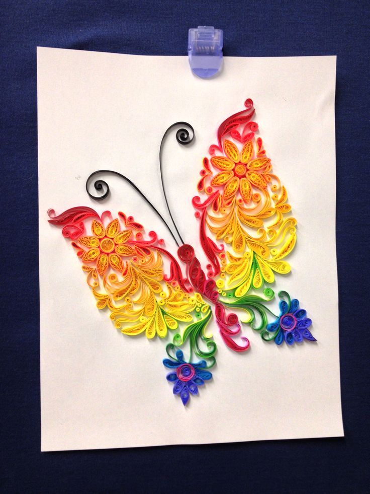 17 Best Images About Quilling Butterflies On Pinterest
