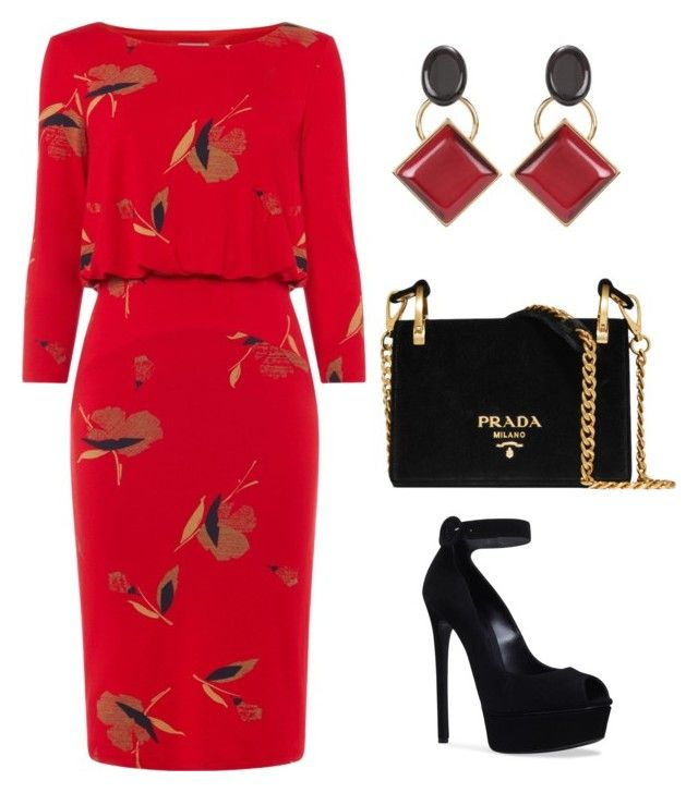 """""""Untitled #784"""" by mchlap on Polyvore featuring Phase Eight, Marni, Casadei and Prada"""