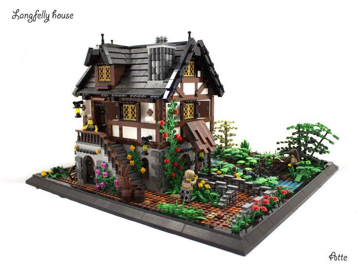 Lego Medieval House 1199 best lego images on pinterest | lego architecture, lego house