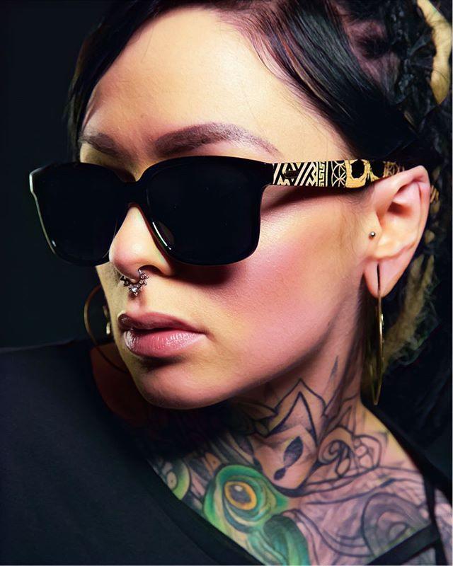 Death Mandala Sunglasses www.crmcclothing.co | We ship worldwide  #girlswithtattoos #sunglasses #pixieears #hot #cozy #womenwithdreads #alternative #bodymods #fashionstatement #bodymodification #sunglassesfashion #stretchedears #womenswear #tattooedwomen #chic #hotgirls #pixie #tattooedmodels #alternativegirl #alternativeteen #love #beautiful #vogue #beautifulimage #followme #inktober #inktober2017