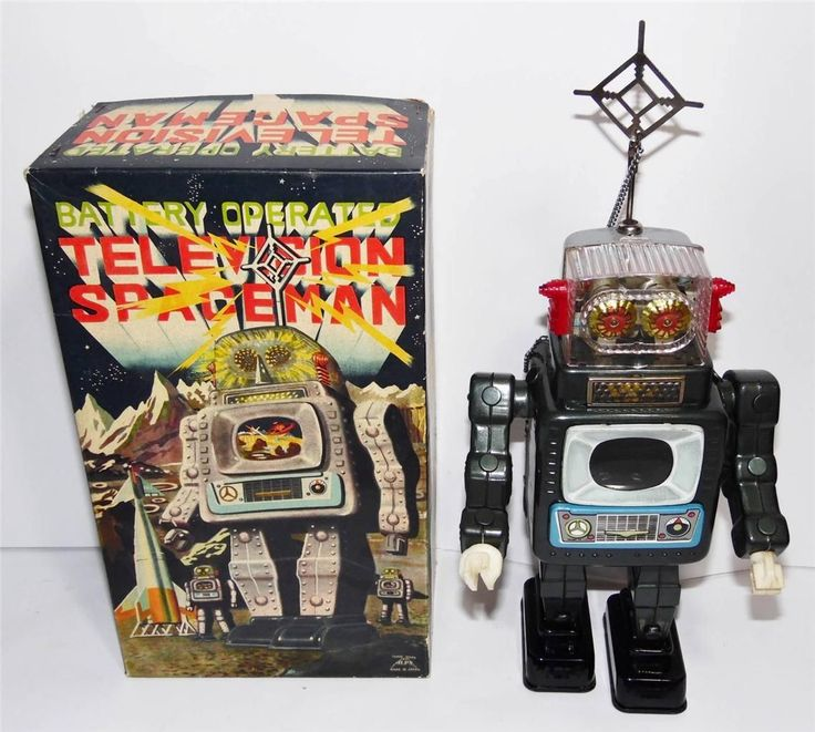 Like Toy Tv : Alps tv spaceman robot s ebay vintage robots space