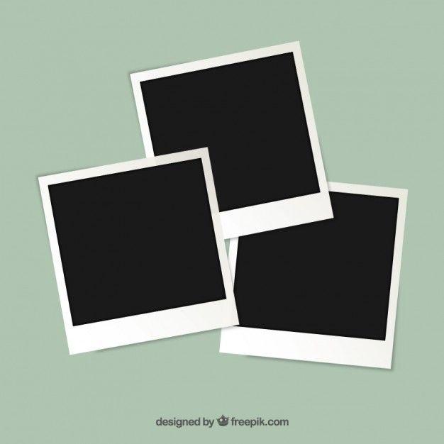 Marcos de fotos Polaroid