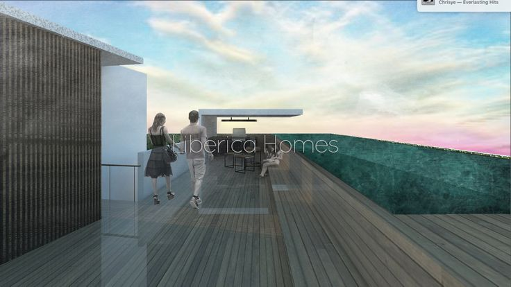Rooftop deck & Swimming pool